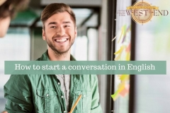 How to start a conversation in English Small talk 1